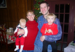 The Lawrence Family, Christmas 2012