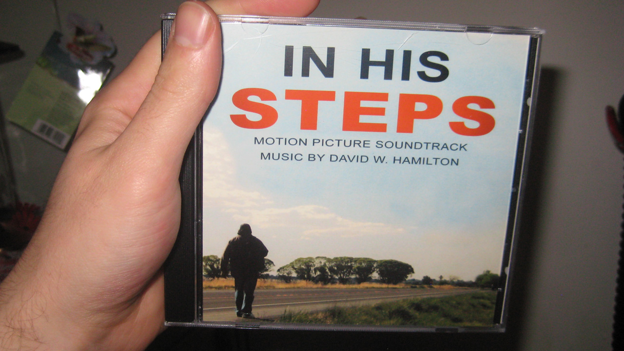 In His Steps Soundtrack - Zack Lawrence Vlog