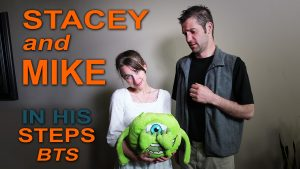 Stacey and Mike - In His Steps behind the scenes