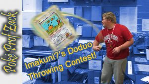 Imakuni?'s Doduo Throwing Contest - Pokemon League Vlog