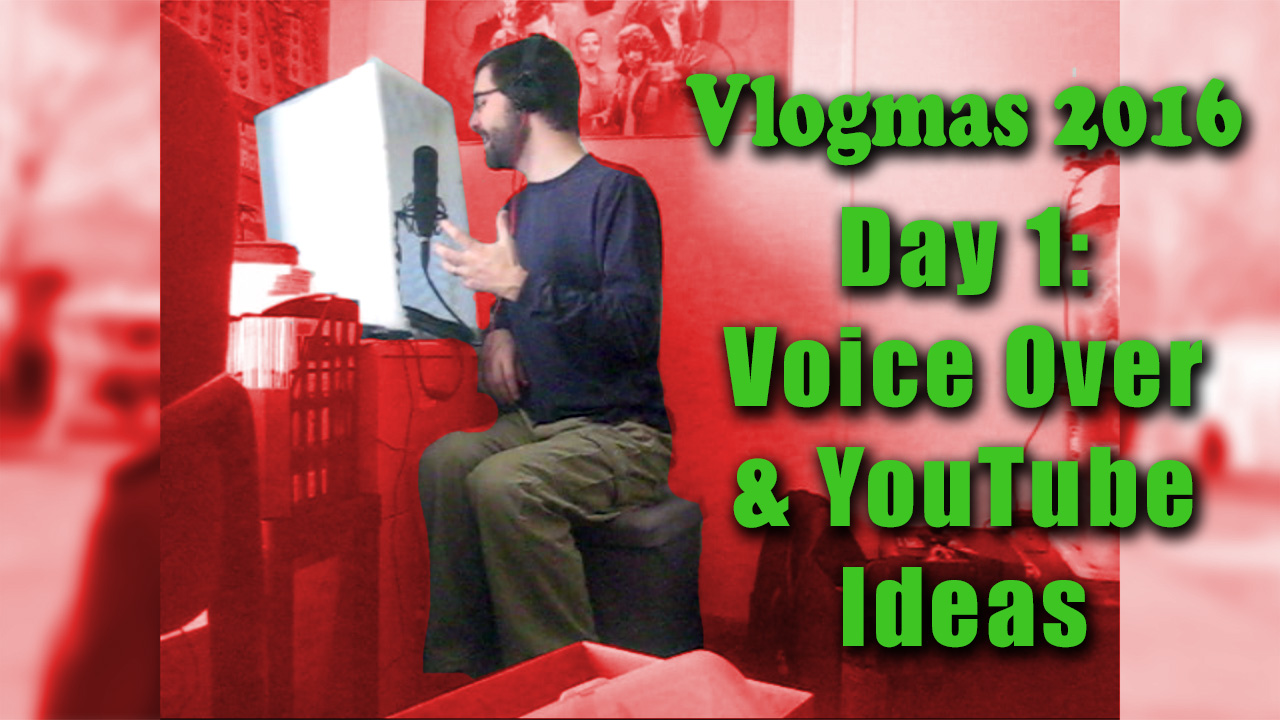 Voice Over & YouTube Ideas - Vlogmas Day 1 | Zack Lawrence Vlog