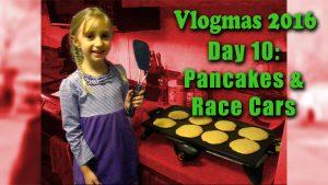 Pancakes & Race Cars | Vlogmas 2016 - Zack Lawrence Vlog