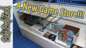 A New Game Store! Poke Prof Zack