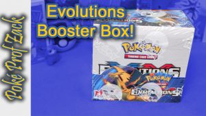 Incredible Evolutions Booster Box - Poke Prof Zack