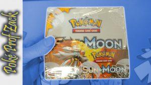 Sun & Moon Booster Box Opening - Poke Prof Zack