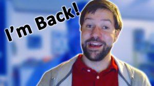 I'm Back - Zack Lawrence Vlog