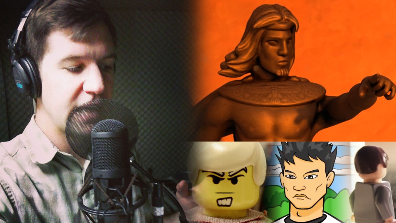 Zack Larence Video Game and Animation Voice Acting Reel