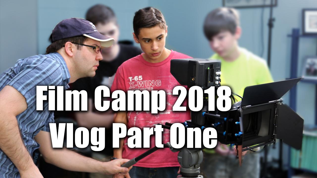 Film Camp Vlog Part One - Zack Lawrence Vlog