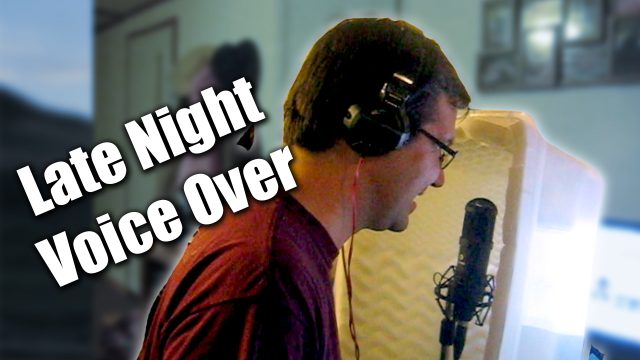 Late Night Voice Over - Zack Lawrence Vlog
