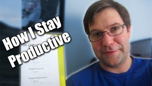 How I Stay Productive - Zack Lawrence Vlog