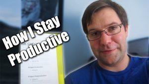 How I Stay Productive - Zack Lawrence Vlog