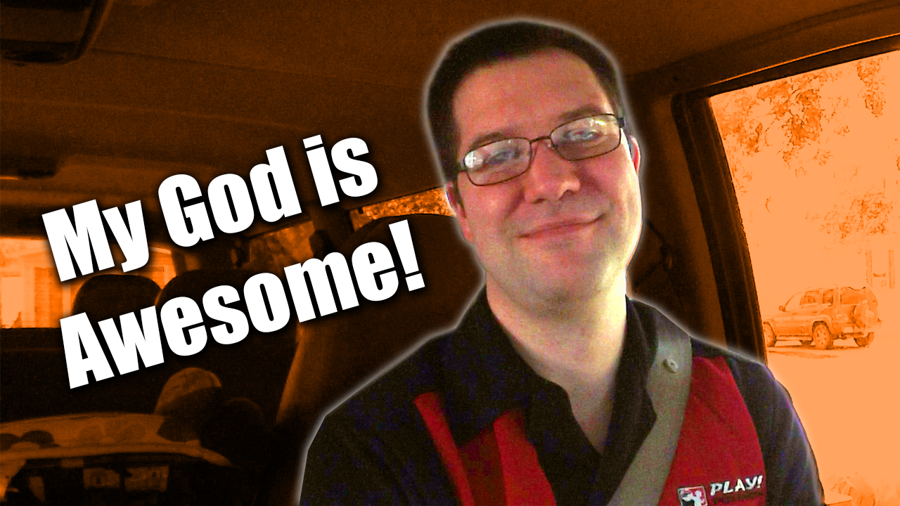 My God is Awesome - Zack Lawrence vlog