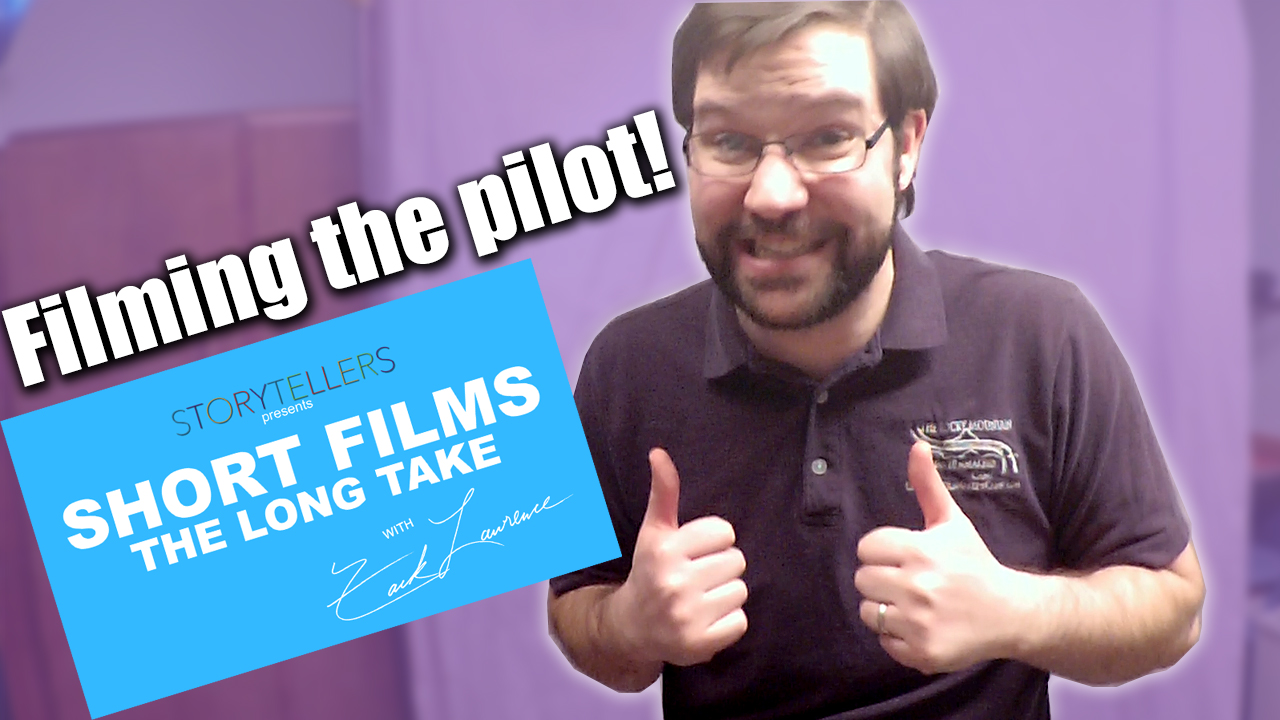 Filming the Pilot! - Zack Lawrence vlog