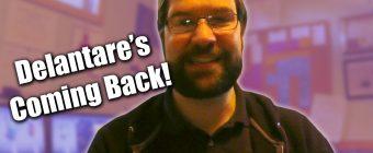 Delantare's Coming Back! - Zack Lawrence vlog
