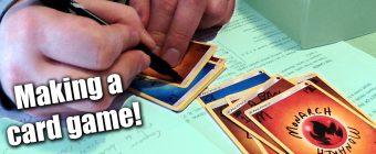 Making a Card Game for Delantare! - Zack Lawrence Vlog