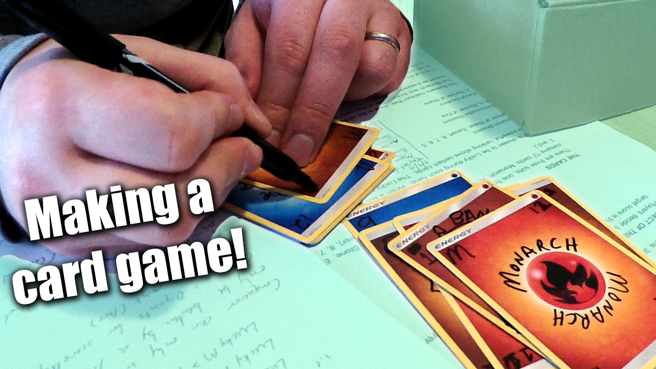 Making a Card Game for Delantare! - Zack Lawrence Vlog