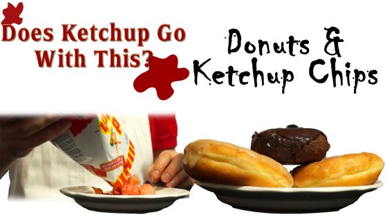 Donuts & Ketchup Chips - Does Ketchup Go With This? by Zack Lawrence #10yearsofstandingsun