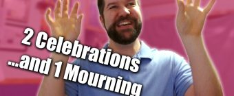 Anniversaries - 2 Celebrations & 1 Mourning | Zack Lawrence Vlog