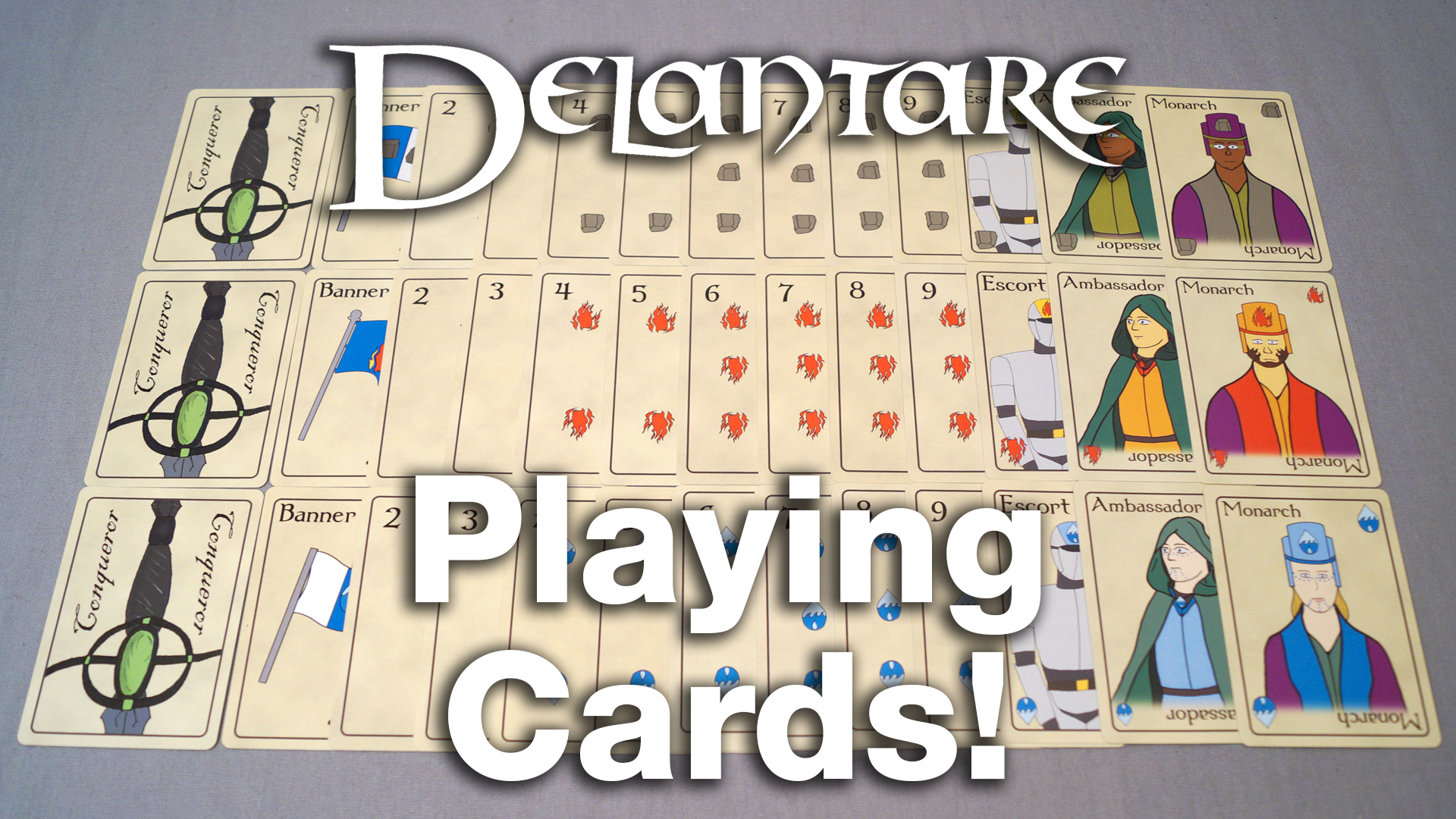 Delantare Playing Cards | Zack Lawrence