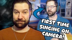 My First Time Singing on Camera! Zack Lawrence Vlog