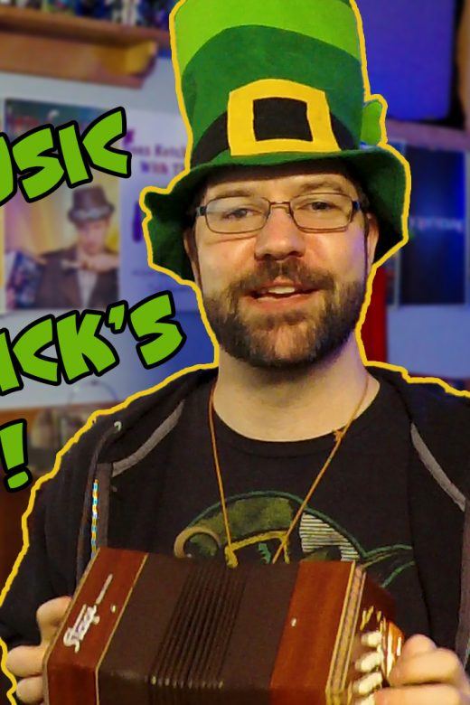 Playing Celtic Music for St. Patrick's Day - Zack Lawrence Vlog